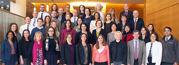 This group of 30 Dana-Farber/Brigham and Women's Cancer Center staff participated in the first Clinical Process Improvement Course (CPIP) in 2012.