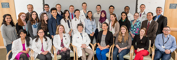 members of the Center for Neuro-Oncology treatment team