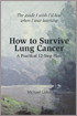 How to Survive Lung Cancer book