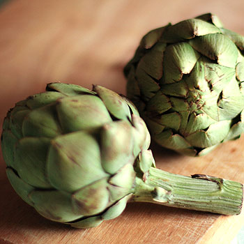 Roasted Artichokes with Parsley and Garlic