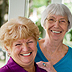 Cancer Prevention and Risk Reduction - two smiling women