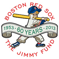 Red Sox Jimmy Fund 60 years logo