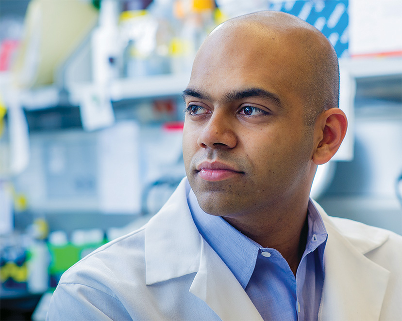 Does a breast tumor's genome change when it becomes metastatic? Nikhil Wagle, MD, aims to find out.