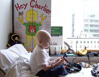 Charlie at Dana-Farber/Boston Children's Cancer and Blood Disorders