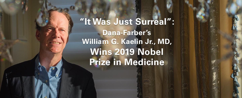 William Kaelin Nobel Prize