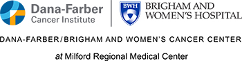 Dana-Farber/Brigham and Women's Cancer Center at Milford Regional Medical Center logo