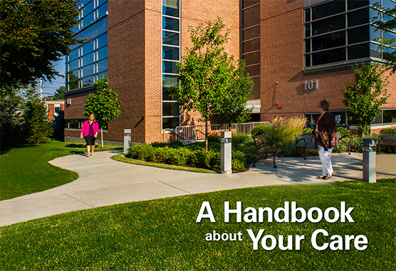 A Handbook about Your Care - South Shore