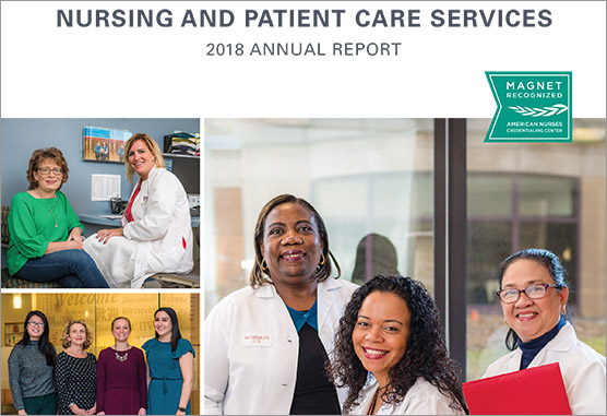 Nursing Annual Report cover