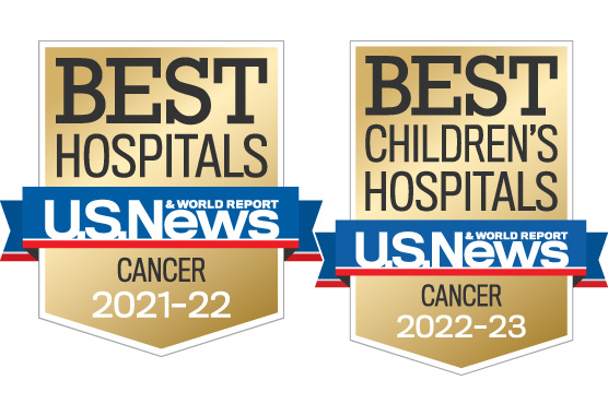 US News Adult and Pediatric badges