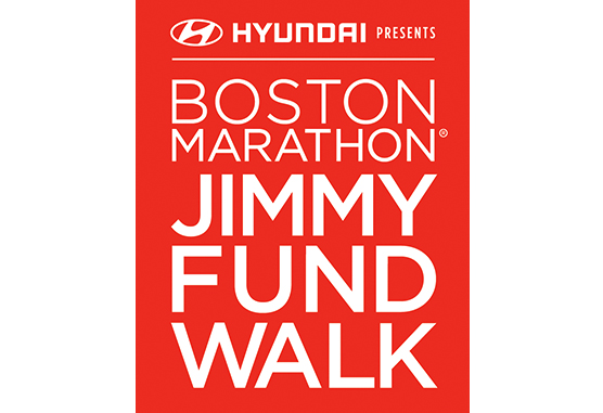 Boston Marathon Jimmy Fund Walk logo