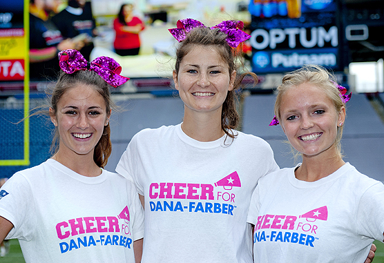 Cheer for Dana-Farber participants