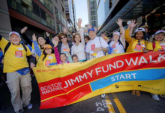 Participate in the Jimmy Fund Walk