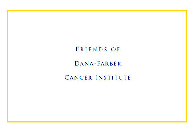 Friends of Dana-Farber Logo Card