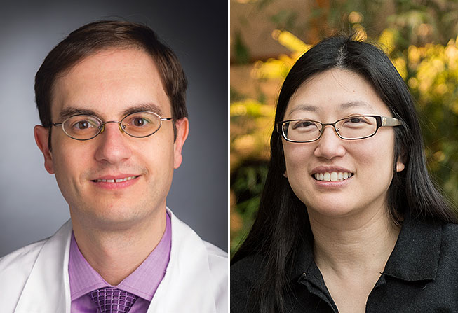 Panos Konstantinopoulos, MD, PhD, and Nancy Lin, MD