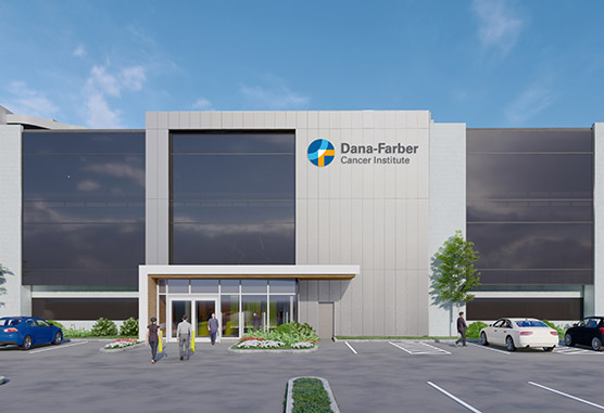 Dana-Farber Cancer Institute - Merrimack Valley building rendering