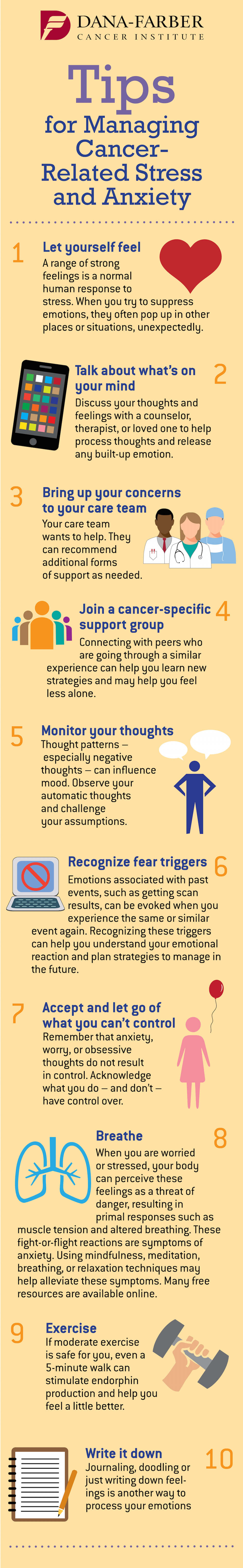 manage anxiety and stress