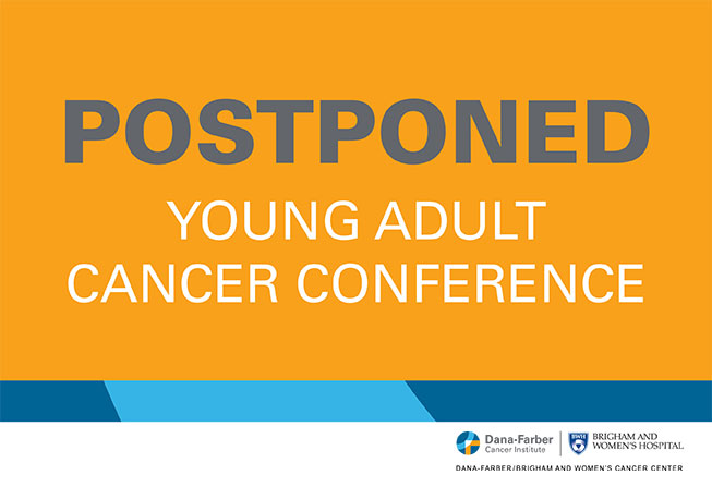 2020 Young Adult Cancer conference - postponed