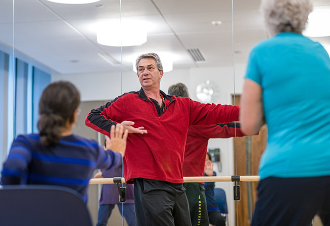 Zakim Center exercise class