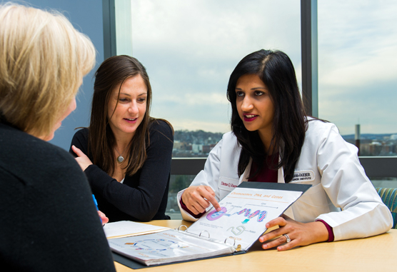 Shelley McCormick and Huma Rana, MD