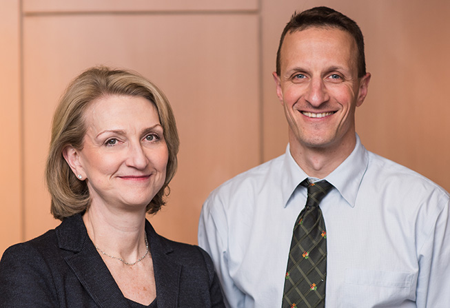 Margaret Shipp, MD, and Philippe Armand, MD, PhD