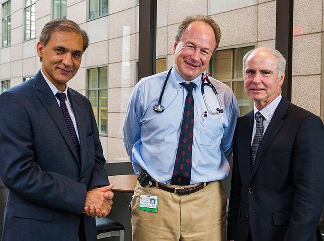 Nikhil Munshi, MD, Paul Richardson, MD, and Kenneth Anderson, MD