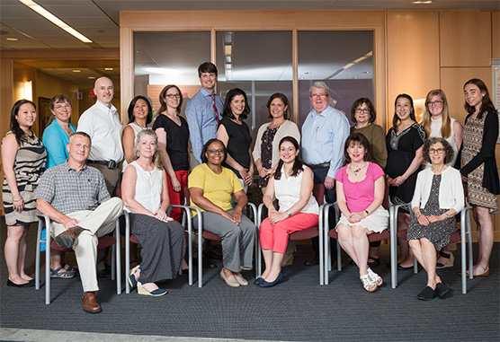 Pediatric Psychosocial Oncology Program team