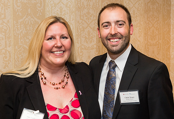Jimmy Fund Events Committee Co-Chairs Amy Sullivan and Christopher Tracy