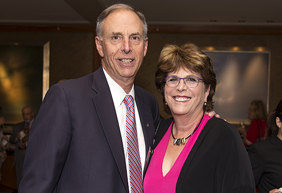 Dana-Farber Society Co-Chairs and Institute Trustees James and Barbara Sadowsky