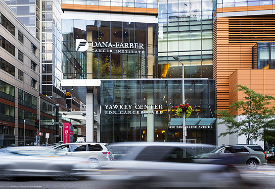 Exterior of Dana-Farber Cancer Institute