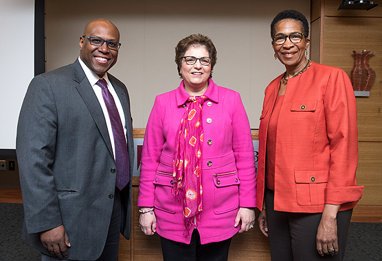 Christopher Lathan, MD, MS, MPH, Electra Paskett, PhD, MSPH, and Karen Burns White, MS