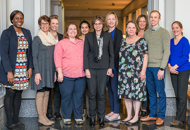 Cantor Center staff members - 2