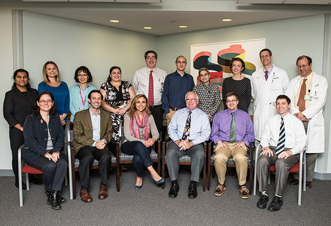 Center for Prevention of Progression of Blood Cancers (CPOP) Leadership members