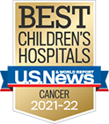 Best Children's Hospitals Award from US News