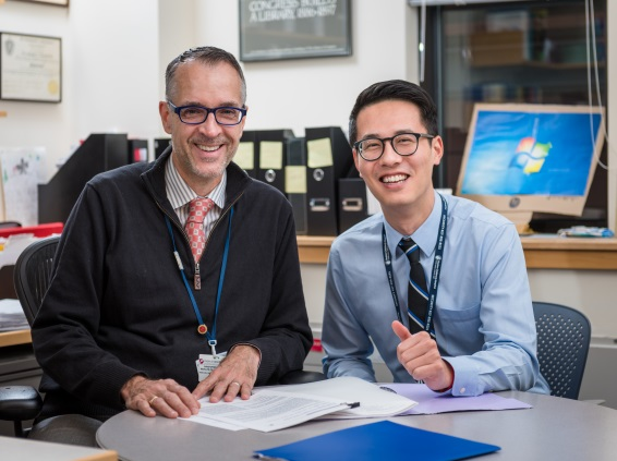 Christopher Recklitis, PhD, MPH, and Eric Zhou, PhD