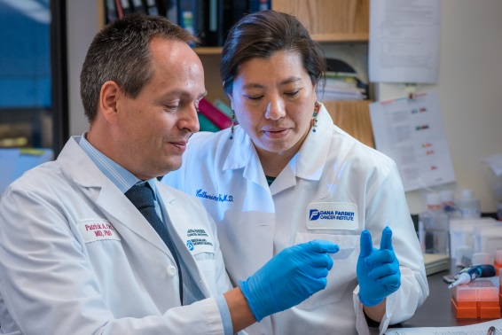Patrick Ott, MD, PhD and Cathy Wu, MD