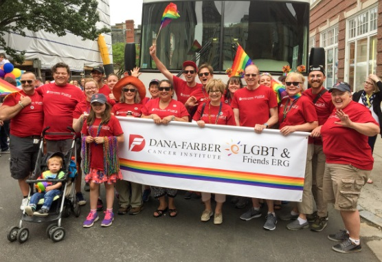 members of Dana-Farber's LGBT & Friends Employee Resource Group